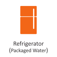 Refrigerator (Packaged Water)
