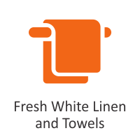 Fresh White Linen and Towels