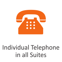 Individual Telephone in all Suites