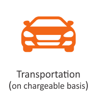 Transportation (on chargeable basis)
