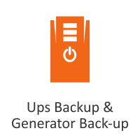 Ups Backup & Generator Back-up