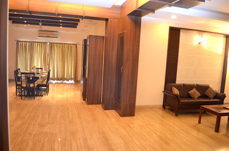 Apartment Living Space Madhapur